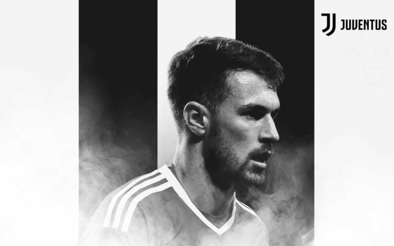 Ramsey Twitter uff Juve
