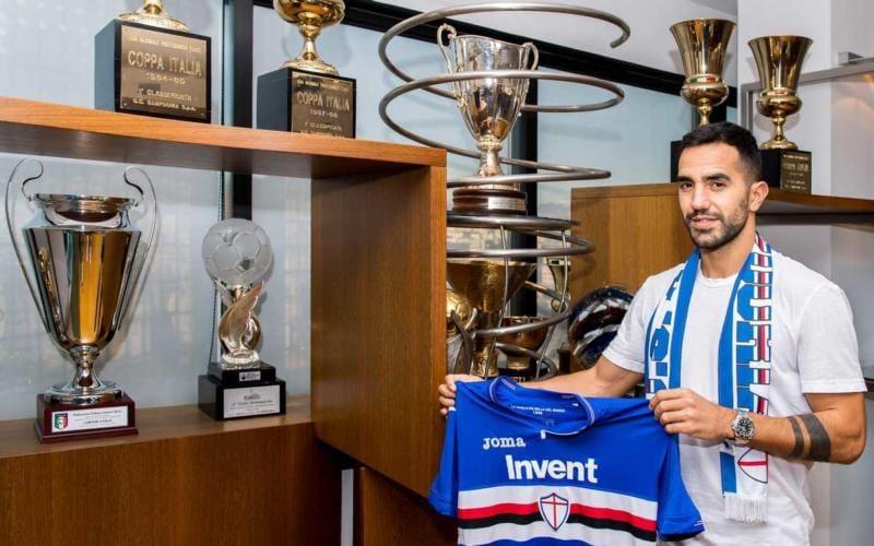 Sau presentazione Sampdoria twitter
