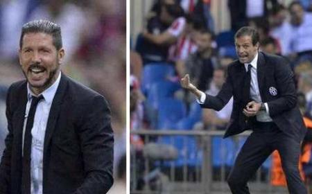 Simeone +Allegri Twitter uff Juve