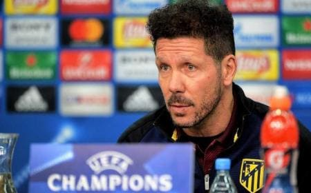 Simeone Atletico conferenza Champions League Foto libertaddigital