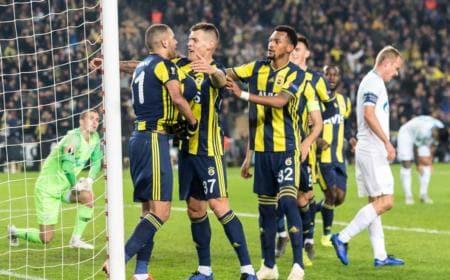 Slimani vs Zenit Foto Europa League Twitter