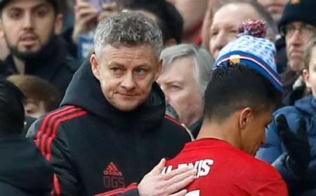 Solskjaer e Sanchez Manchester United Foto Manchester Evening Standard