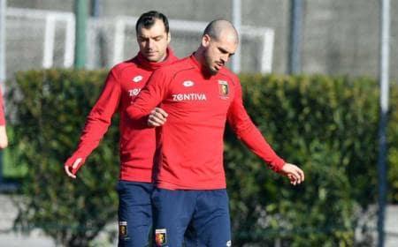 Sturaro training Genoa Twitter