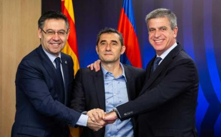 Valverde rinnovo Barcellona Twitter
