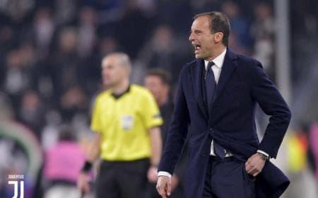 Allegri twitter ufficialer Juventus