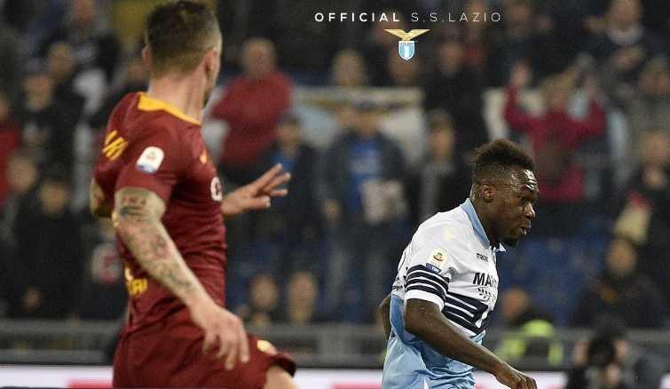 Caicedo vs Roma Foto Lazio Twitter
