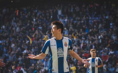 Wu Lei Twitter uff Espanyol
