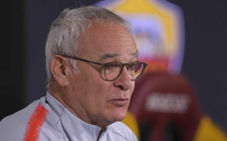 Claudio Ranieri foto Twitter uff Roma
