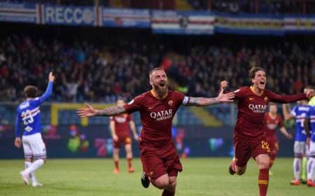 De Rossi Twitter uff Roma