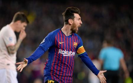 Messi Twitter uff Champions