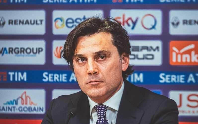 Montella Twitter uff Fiorentina