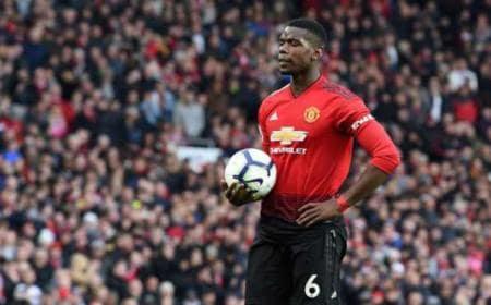 Pogba Man United Foto Marca