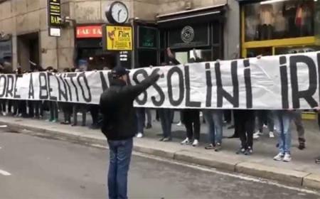 striscione-ultrà-lazio- foto gazzetta tv