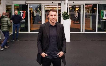 Aaron Ramsey foto twitter Juventus