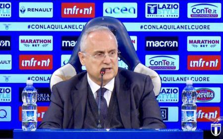 Lotito Twitter uff Lazio
