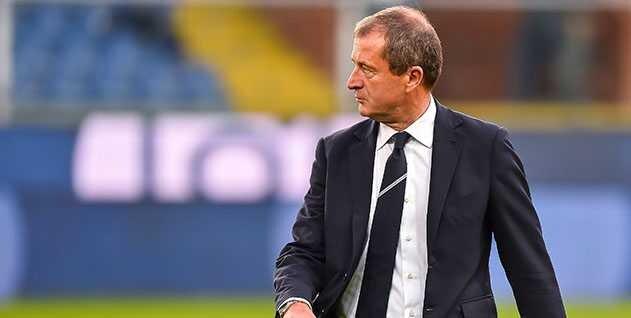 Genova, 21/10/2017 Serie A/Sampdoria-Crotone Carlo Osti (d.s. Sampdoria)
