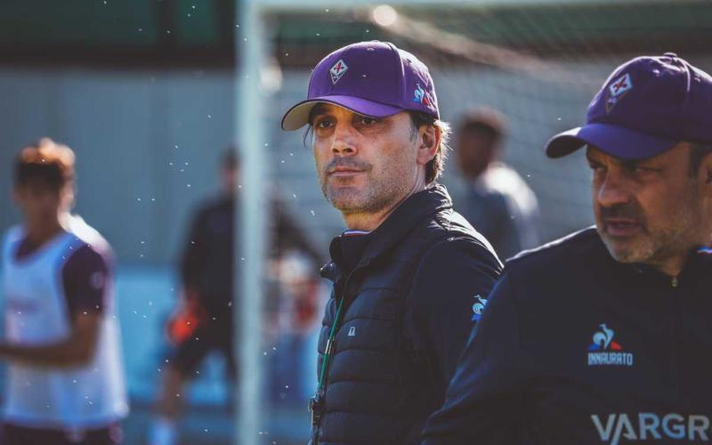 Vincenzo Montella Foto Twitter uff Fiorentina