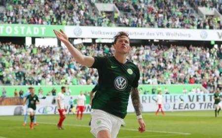 Weghorst Twitter uff Wolfsburg