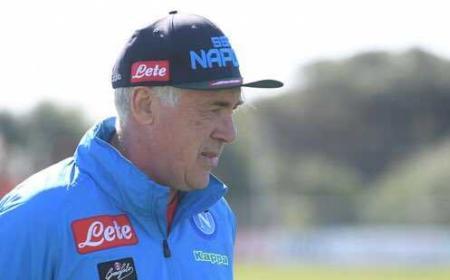 ancelotti foto twitter Napoli
