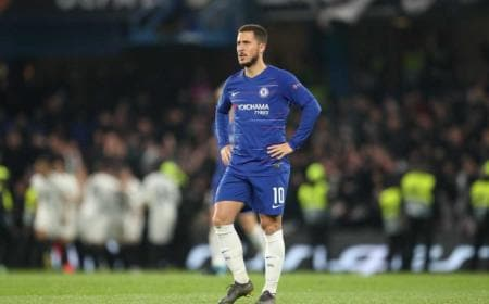 hazard chelsea vs francoforte foto tw europa league