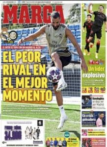 Real Madrid, Benzema salta l