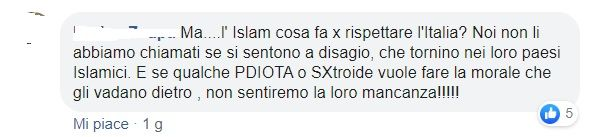 commenti censura Facebook nudi Canova