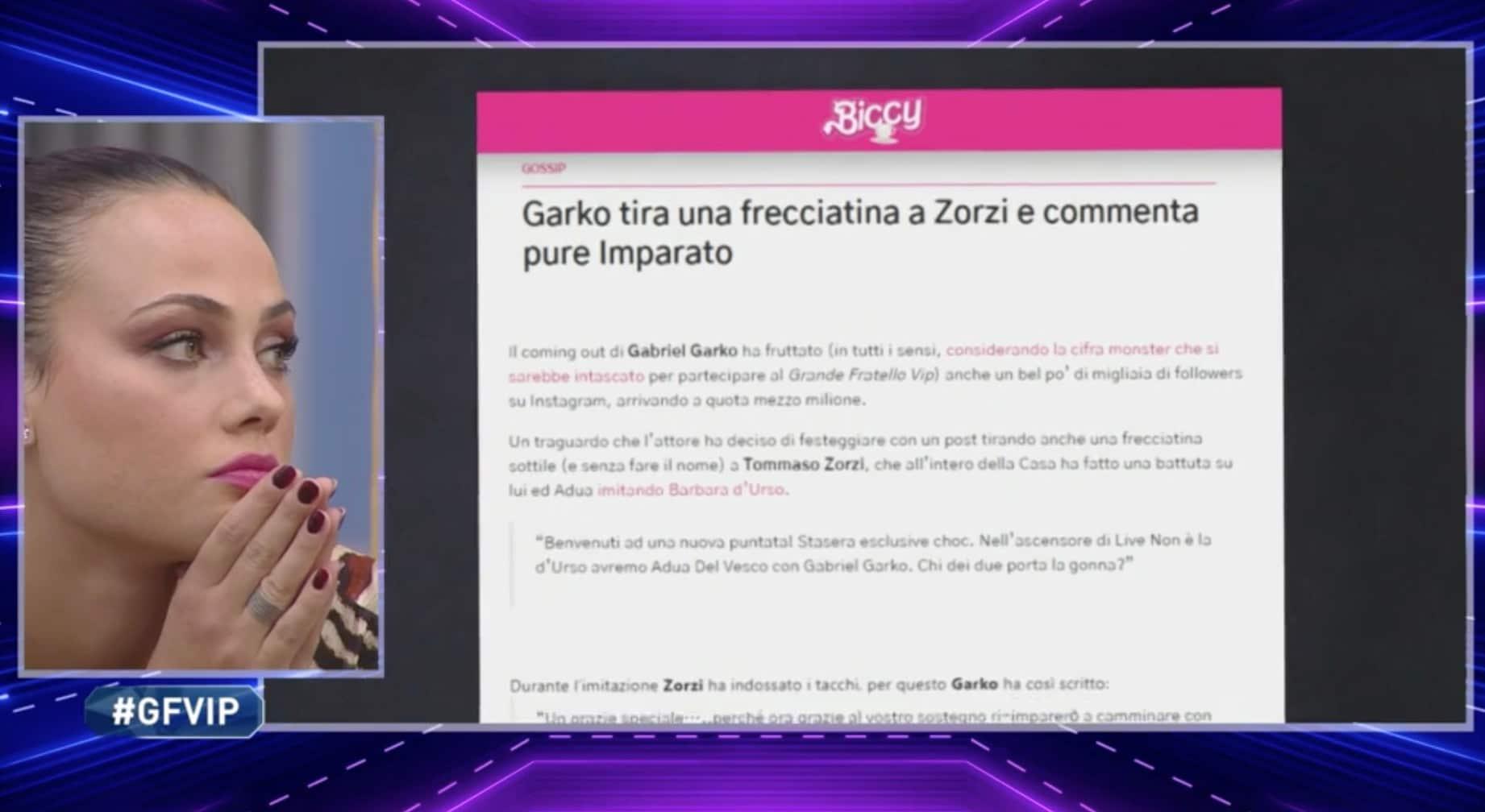 Tommaso Zorzi sbotta e offende Alfonso Signorini (quando pensava di non essere sentito)