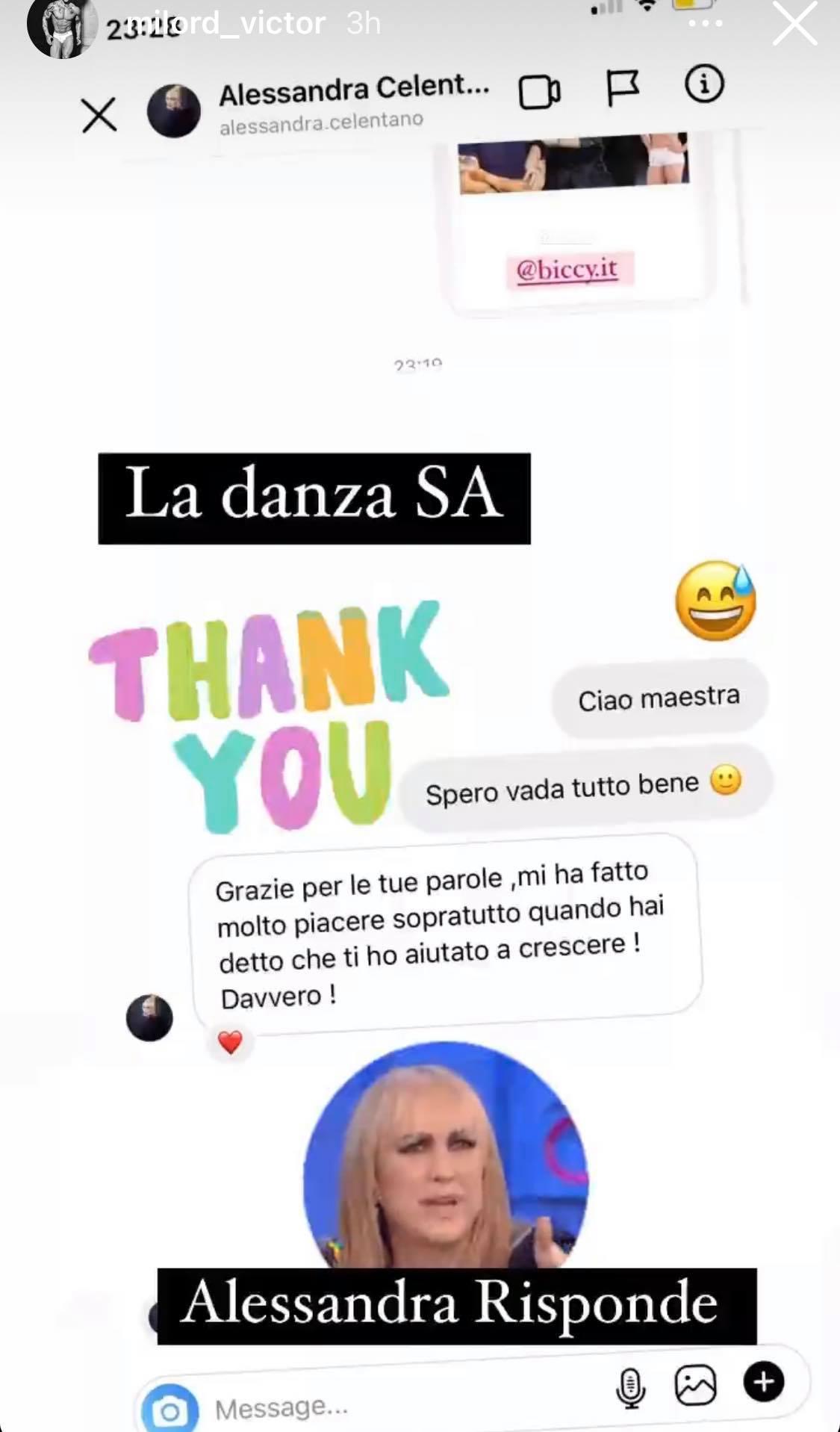 Alessandra Celentano commenta l'intervista di Vito su Biccy: Agata Reale sbotta