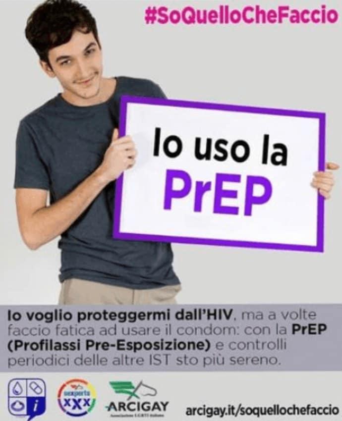 Pietro Turano, la foto originale realizzata per la campagna d'informazione