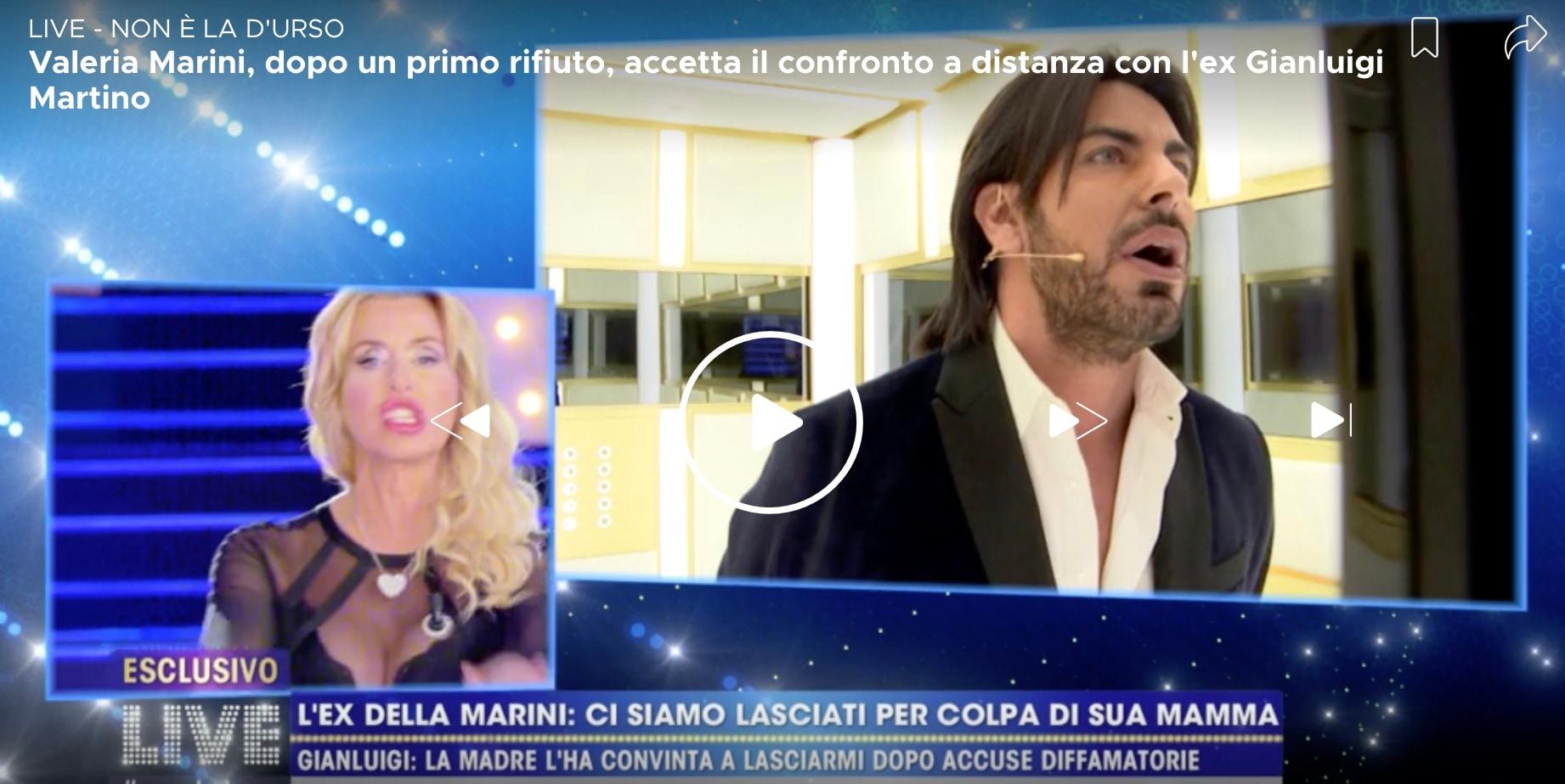 Valeria Marini sempre più vicina a Gianmarco Onestini |   Non c' è niente di male