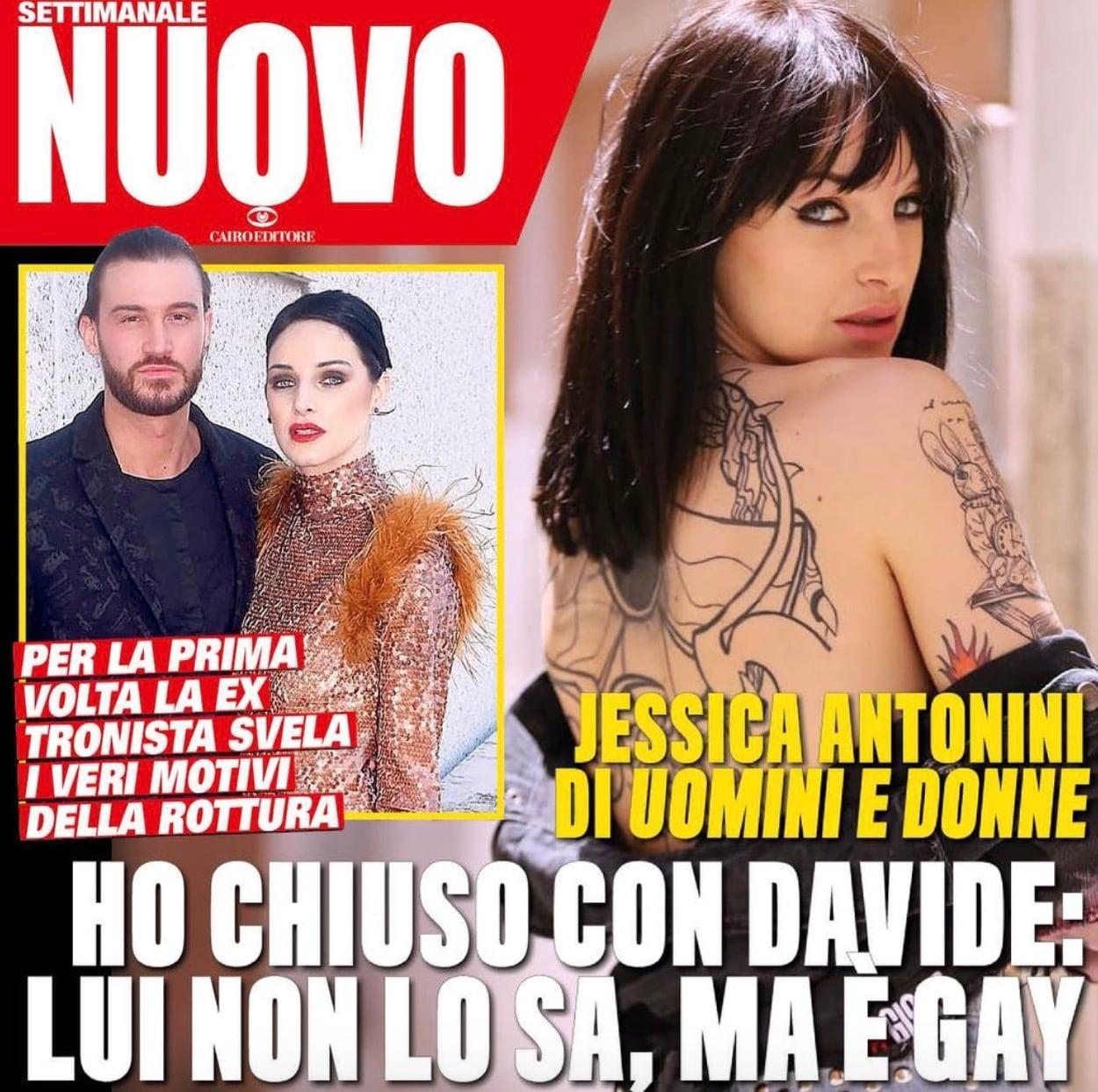 """Davide Lorusso gay? Jessica Antonini spiega perché pensa che il suo ex sia omosessuale: """"Ha altri gusti"""""""