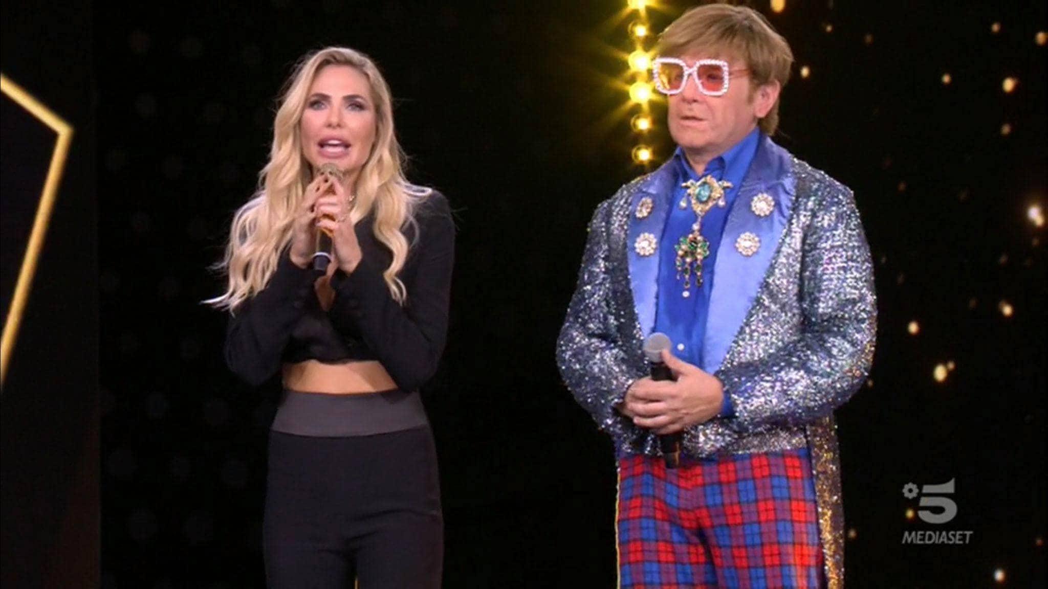 Elton John Star in the Star