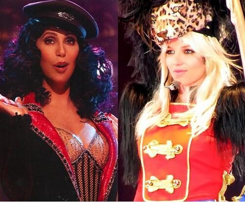 Cher e Britney Spears