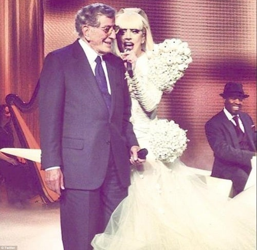 Lady Gaga Tony Bennett Obama