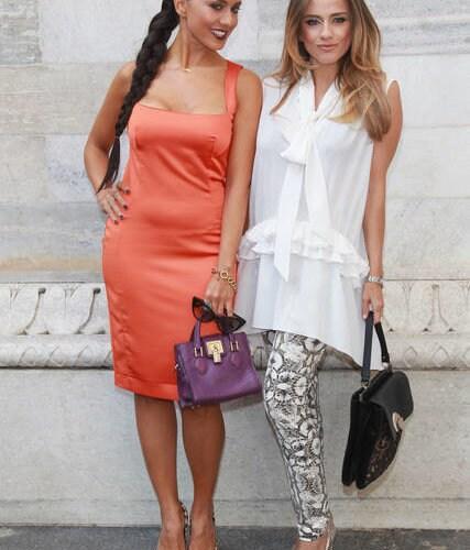 Just Cavalli - Front Row - Milan Fashion Week Womenswear S/S 2013