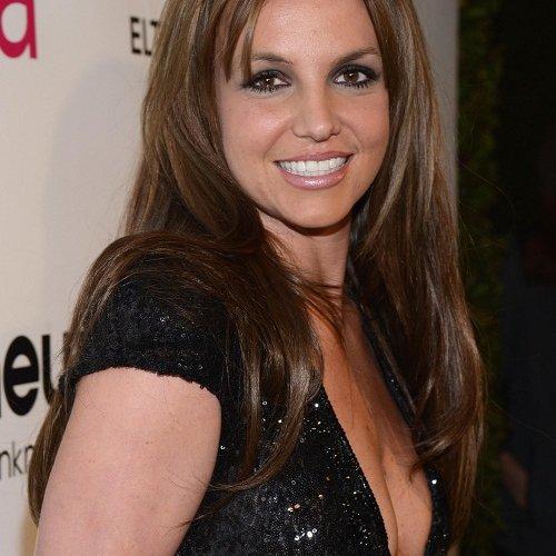Britney Spears capelli castani