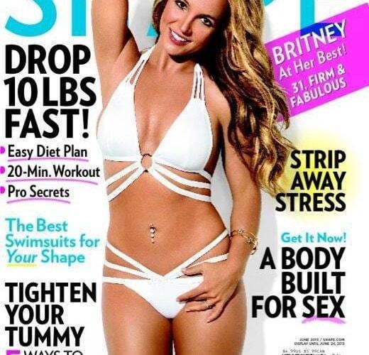 Britney Spears Shape Magazine