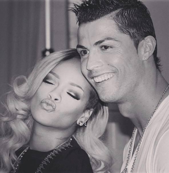 Rihanna Ronaldo