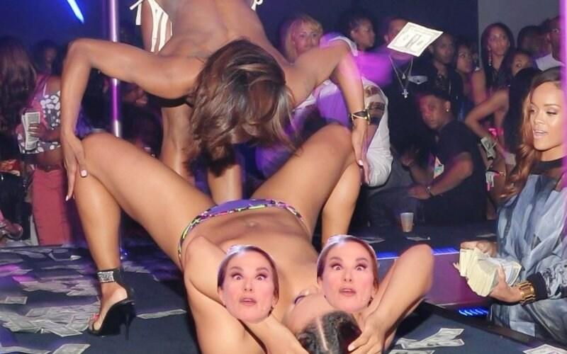 Rihanna Strip Club