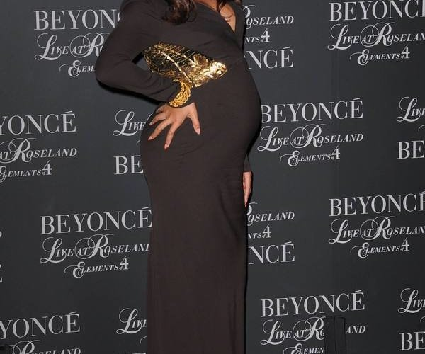 (ACE) BEYONCE ALLA PROIEZIONE DEL FILM LIVE AT ROSELAND: THE ELEMENTS OF 4-