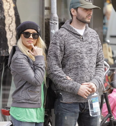 EXCLUSIVE Christina Aguilera and Matthew Rutler enjoying the sights and sounds of Amsterdam USA/AUS/CAN/NZ ONLY