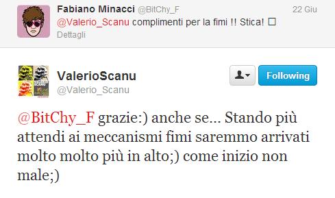 Valerio Scanu Twitter