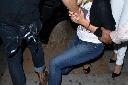 Christina Aguilera ubriaca2