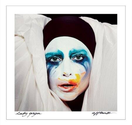 Lady Gaga Applause Single Cover