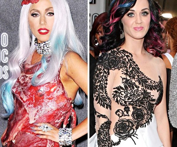 Lady Gaga Katy Perry