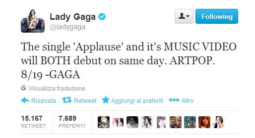 Lady Gaga Singolo