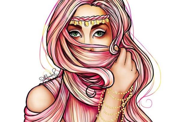 lady gaga burqa