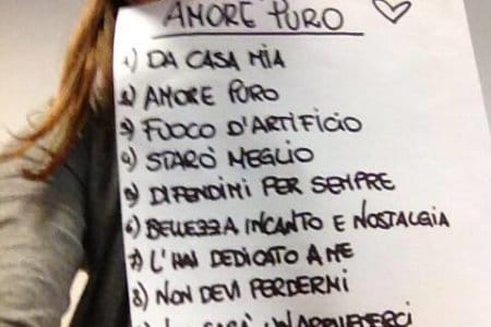 Alessandra Amoroso Tracklist