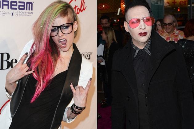 Avril-Lavigne-Marilyn-Manson