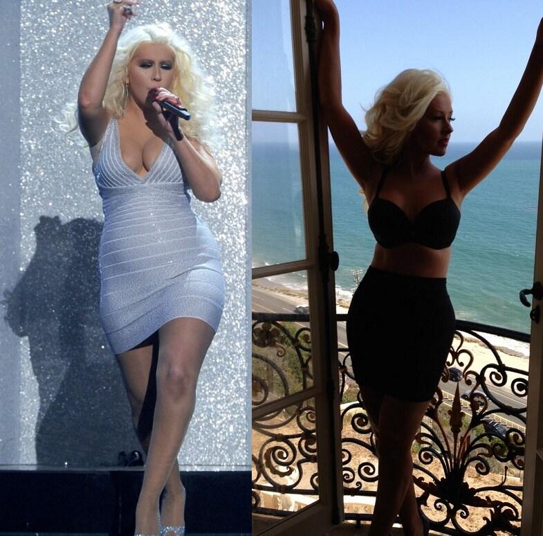 Christina Aguilera Prima Dopo